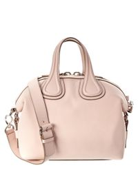 Givenchy   Pink Nightingale Small Waxy Leather Satchel   Lyst