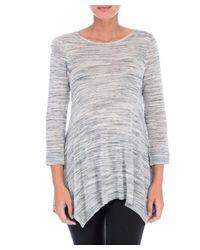 Bobeau - Blue Langley New Space Dye Sweater - Lyst