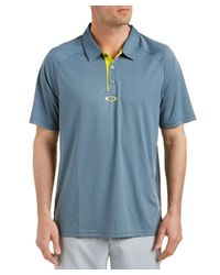 Oakley - Gray Elemental 2.0 Polo Shirt for Men - Lyst