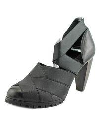 Acrobats Of God - Black Taffa-80 Round Toe Synthetic Heels - Lyst
