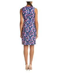 Anne Klein - Blue A-line Dress - Lyst