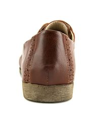 Restricted - Brown Becca Round Toe Leather Oxford for Men - Lyst