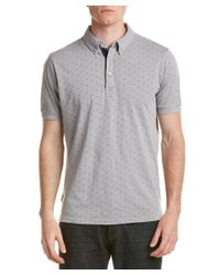 Report - Gray Collection Resort Polo for Men - Lyst