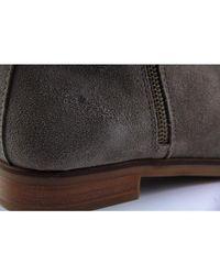 Steve Madden - Reyyna Women Us 8 Gray Ankle Boot Blemish 16225 - Lyst