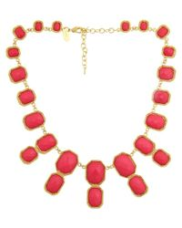 Fornash - Red Super Kelly Plated & Resin Necklace - Lyst