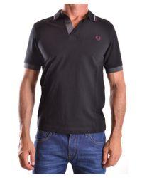 Fred Perry - Men's Mcbi128092o Black Cotton Polo Shirt for Men - Lyst