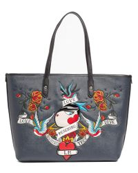 Moschino - Blue Jc4193 0752 Midnight Black Shopper/tote - Lyst