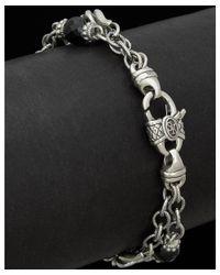 Scott Kay - Metallic Guardian Silver Onyx Bracelet - Lyst