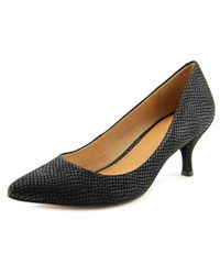 Corso Como - Black Penny Pointed Toe Patent Leather Heels - Lyst