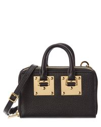 Sophie Hulme - Black Albion Leather Double Zip Wallet - Lyst