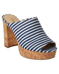Charles by Charles David - Blue Miley Sandal - Lyst