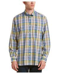 Façonnable - Blue Club Woven Shirt for Men - Lyst