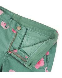 Sun 68 - Green Men's Multicolor Cotton Boxer for Men - Lyst