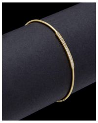 Argento Vivo - Metallic 18k Plated Cz Bracelet - Lyst