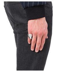 Vivienne Westwood - Metallic Men's Silver Metal Ring for Men - Lyst