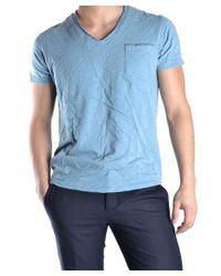 Virtus Palestre - Men's Light Blue Cotton T-shirt for Men - Lyst