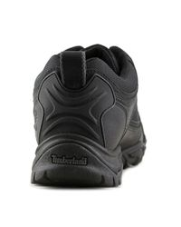 Timberland - Black Mt. Abram Low Round Toe Leather Hiking Boot for Men - Lyst