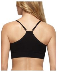 Yummie By Heather Thomson - Black Yummie Mallory Seamless Racer Back Bra - Lyst