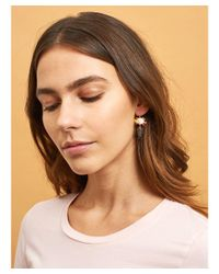 Les Nereides - Blue Little Cats Faces And Bunch Of Beads Earrings - Lyst