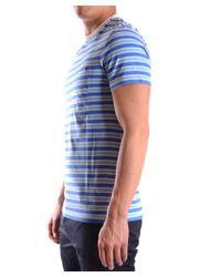 Marc Jacobs - Men's Mcbi198009o Blue Cotton T-shirt for Men - Lyst