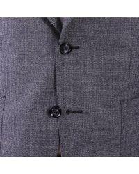 Tagliatore - Gray Men's Grey Cotton Suit for Men - Lyst