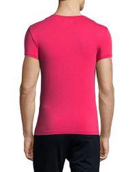 Emporio Armani - Green Underwear Iconic Crewneck T-shirt for Men - Lyst
