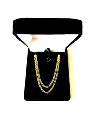 JewelryAffairs - Metallic 14k Yellow Gold Round Rolo Link Chain Necklace, 2.3mm, 20 Inch - Lyst