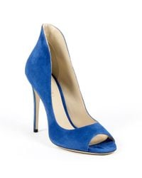 Andrew Charles by Andy Hilfiger - Andrew Charles Womens Pump Open Toe Blue Dafne - Lyst