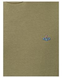 Vivienne Westwood - Men's Green Cotton T-shirt for Men - Lyst