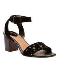 Clarks | Black Women's Ralene Sheen Ankle Strap Sandal | Lyst