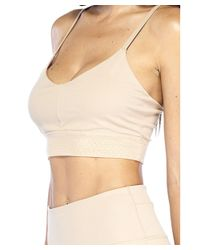 Electric Yoga - Natural The Freedom Bra - Lyst