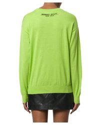 Jeremy Scott - Women's Green Wool Sweater - Lyst