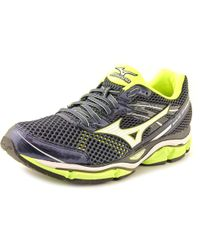Mizuno - Black Wave Enigma 5 Round Toe Synthetic Running Shoe for Men - Lyst