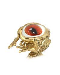 Bernard Delettrez - Metallic Women's Gold Metal Ring - Lyst