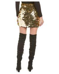 Trina Turk - Metallic Kalina Mini Skirt - Lyst