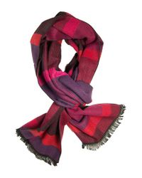 Dibi - Multi Red & Pink Pattern Scarf for Men - Lyst