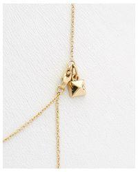 Rebecca Minkoff - Metallic 14 Kt Safety Pin Stud Necklace - Lyst