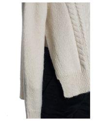 Isabel Marant - White Etoile Womens Ivory Alpaca Blend Gayle Knit Sweater - Lyst