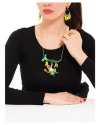 Les Nereides - Red Kind And Happy Jacques Necklace - Lyst