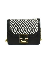 Ivanka Trump - Black Hopewell Mini Shoulder Bag - Lyst