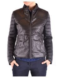 Save The Duck - Women's Black Polyester Outerwear Jacket - Lyst