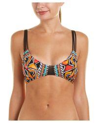 Nanette Lepore - Multicolor Mozambique Enchantress Bikini Top - Lyst