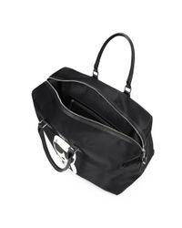 Karl Lagerfeld - Women's Black Polyamide Travel Bag - Lyst