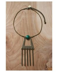 Love Leather - Natural Black Betty Necklace - Lyst