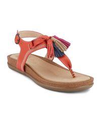 G.H.BASS - Multicolor . Womens Sunjuns Sadie Sandal Shoe - Lyst