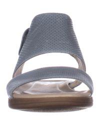 f5a6244179a6 Lyst - Naturalizer Fae Flat Comfort Sandals
