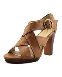 Seychelles - Brown Route Men Open Toe Leather Tan Sandals - Lyst