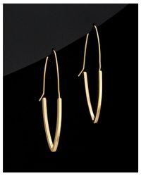 Argento Vivo - Metallic 18k Plated Hoops - Lyst