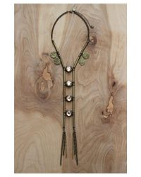 Love Leather - Multicolor Temple Of Dreams Necklace - Lyst