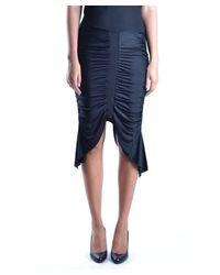 Iceberg - Women's Black Viscose Dress - Lyst